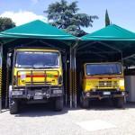 I mezzi della VAB di Bagno a Ripoli
