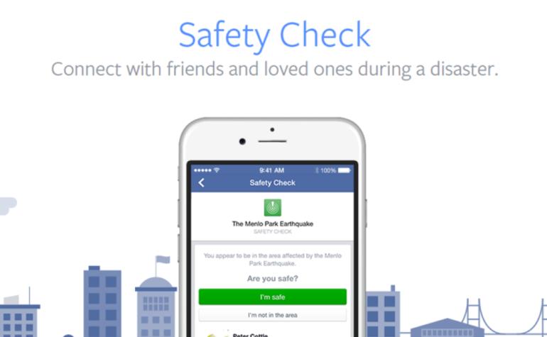 Facebook: Safety Check diventa una funzione permanente
