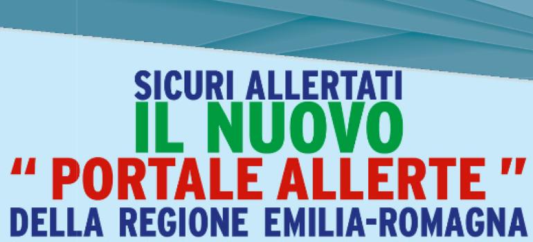 La Regione Emilia Romagna presenta il portale per le allerte meteo: unico, veloce, in tempo reale e accessibile a tutti