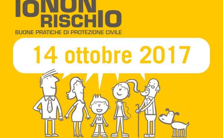 Io non rischio 2017: sabato 14 ottobre migliaia di volontari in oltre 100 piazze italiane