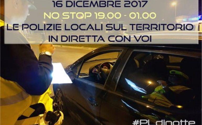 #PLdinotte: il turno delle Polizie Locali dell'Emilia Romagna in diretta su Twitter