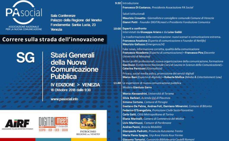 PAsocial: la protezione civile di Sesto Fiorentino agli stati generali della comunicazione pubblica
