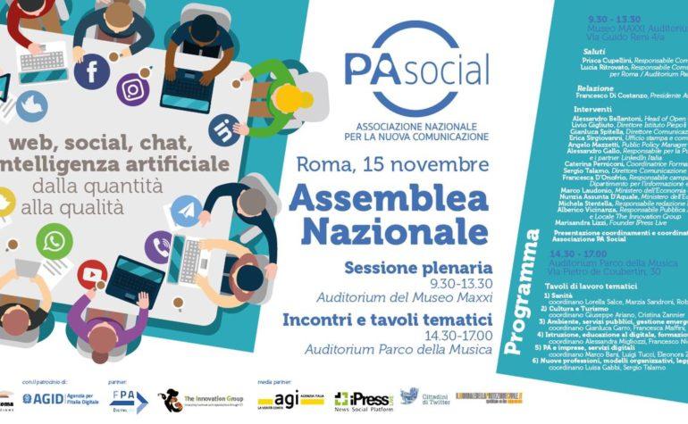 PA Social: per una comunicazione pubblica e social sempre più di qualità
