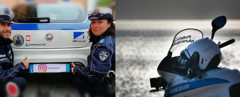 La Polizia Locale è social, intervista doppia ai comandanti di Riccione e del Rubicone