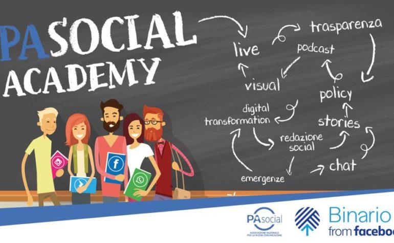 PA Social Academy, 15 appuntamenti formativi su comunicazione, digitale ed emergenza