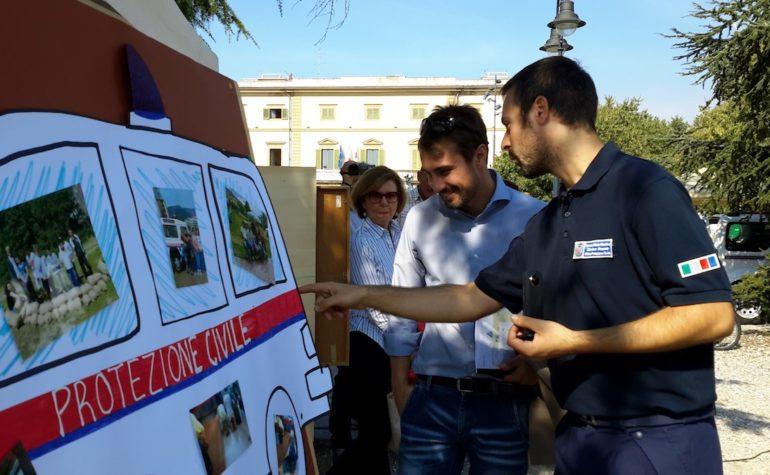 Sabato 5 ottobre la protezione civile di Sesto Fiorentino scende in piazza (e sui social)