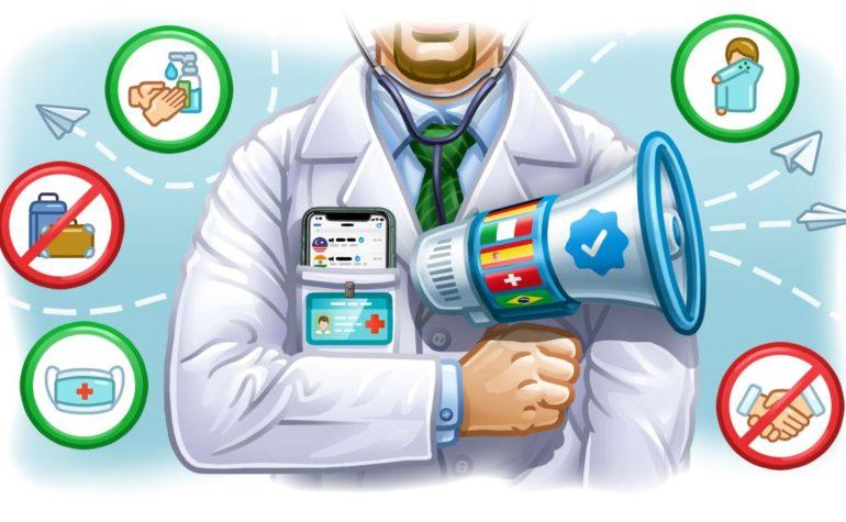 Il Ministero della Salute arriva su Telegram per informare sul Coronavirus