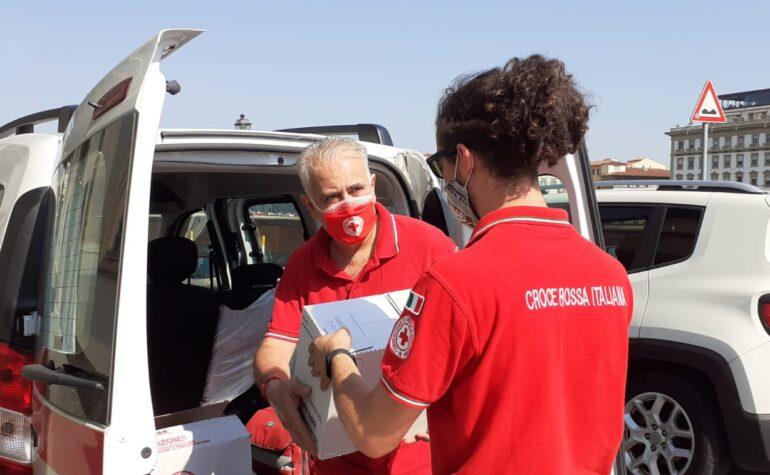 Samuele e Marco, volontari temporanei nell'emergenza covid-19
