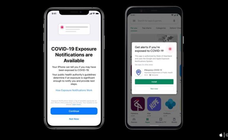 Apple e Google lanciano Exposure Notification Express per il tracciamento dei contatti