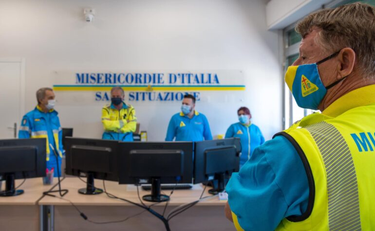 La comunicazione delle Misericordie d'Italia durante la pandemia, l'analisi di Carlotta Pecchioli