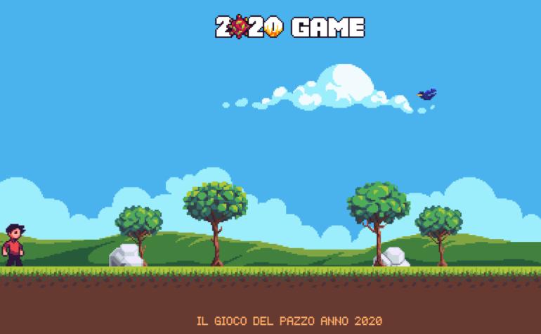 Un ironico videogioco per rivivere le catastrofi del 2020